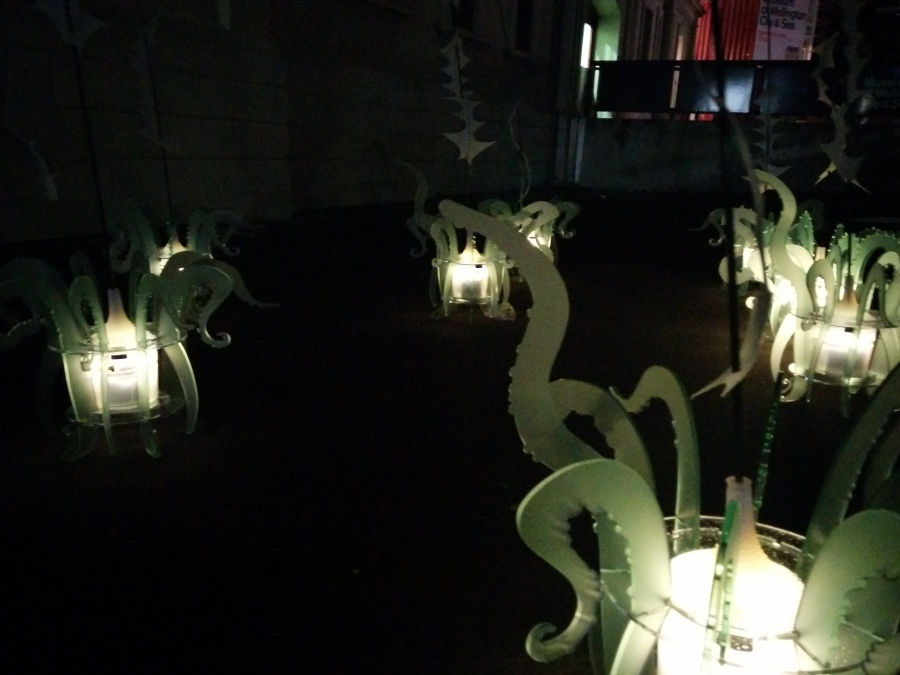 Kraken by Anthony Nevin at the Wellington Lux. They were sound sensitive.