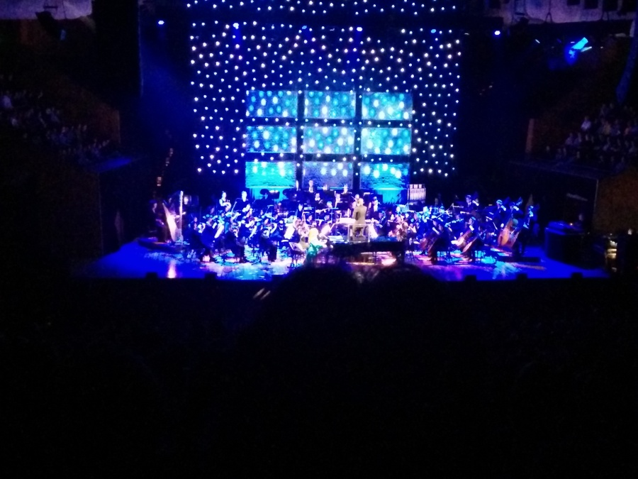 Tori Amos, at the Sydney Opera House. 2 bucketlist items: check.