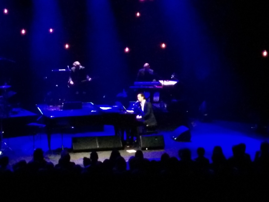 Nick Cave playing The Ship Song at the St James.